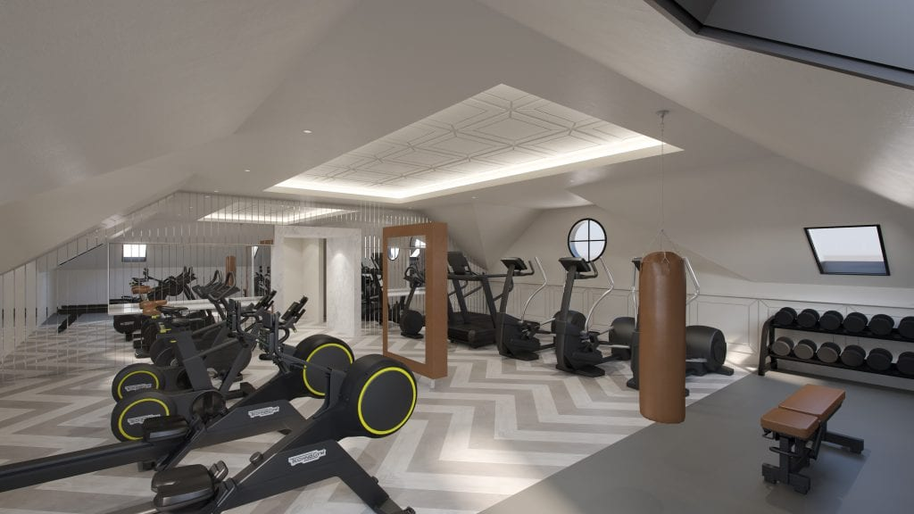 Gym Design - Zynk Design