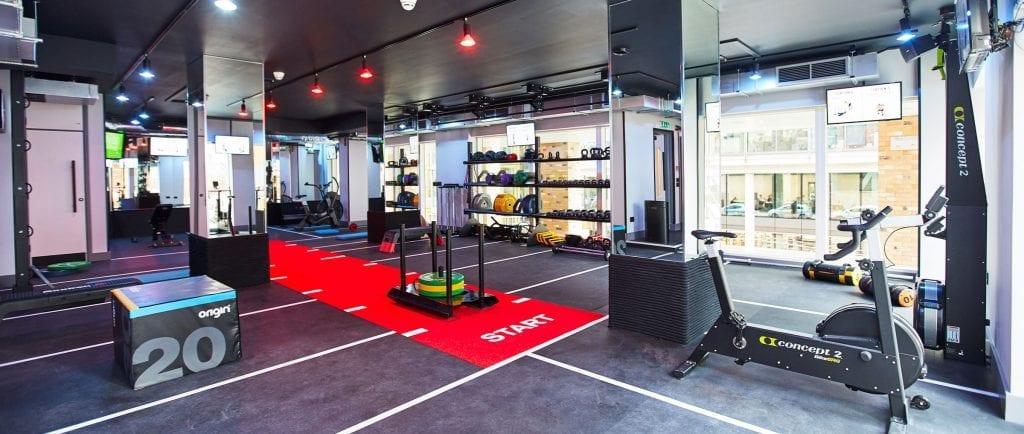 Retra Boutique Fitness Studio - zynk Design