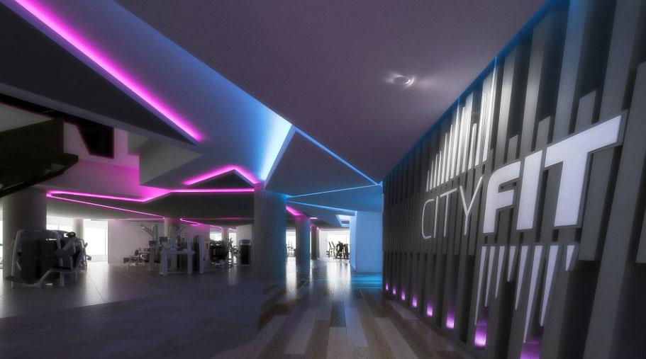 cityfit gym design - zynk design