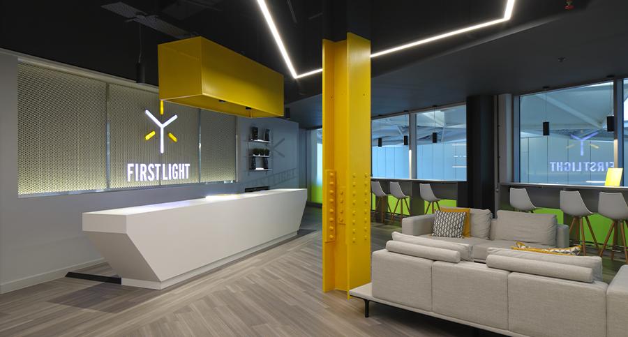 firstlight spin studio design - zynk design